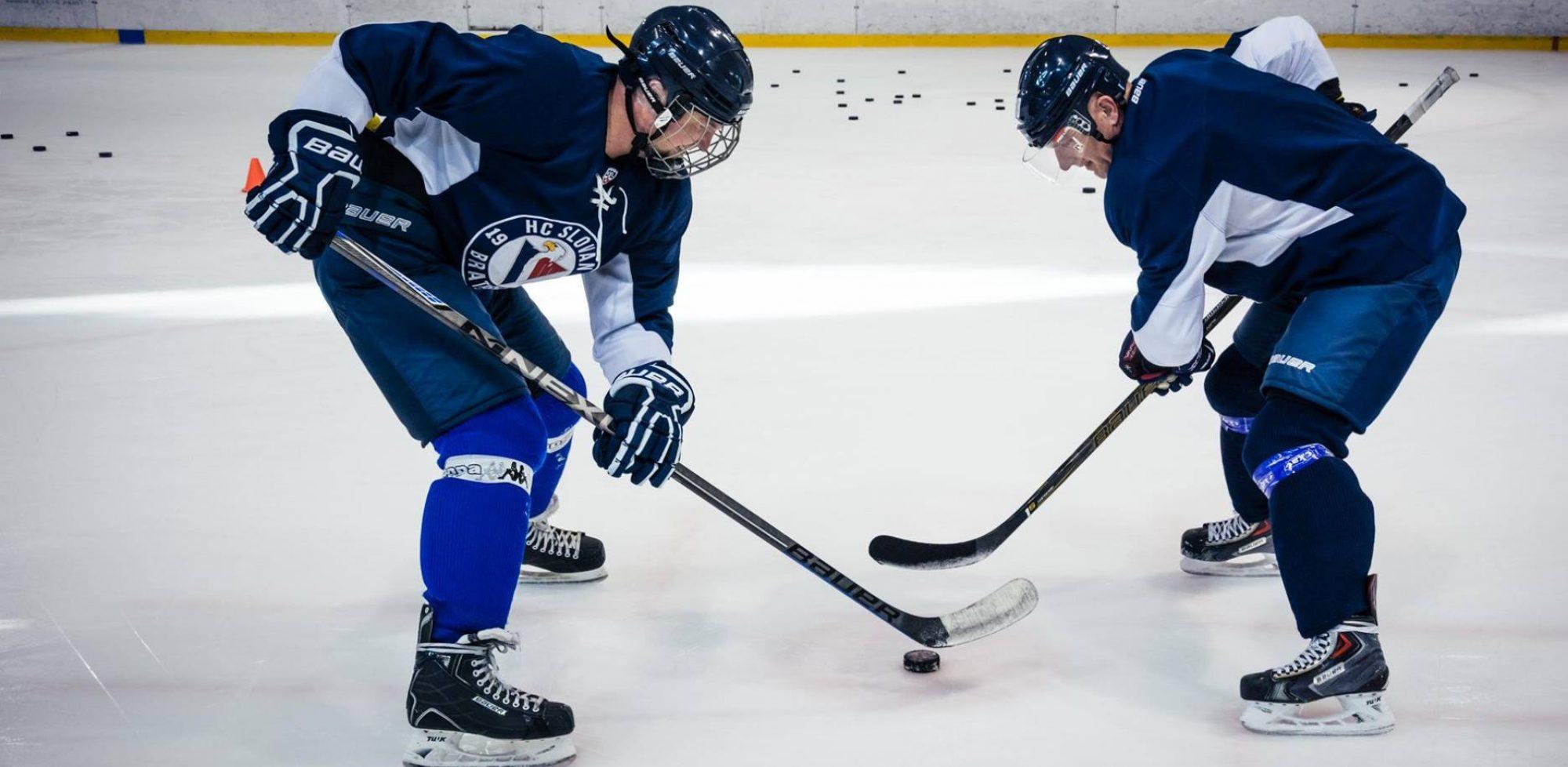 Tréning amatérskeho hokeja